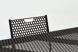 RAD Furniture's Perforated Dining Table Detail