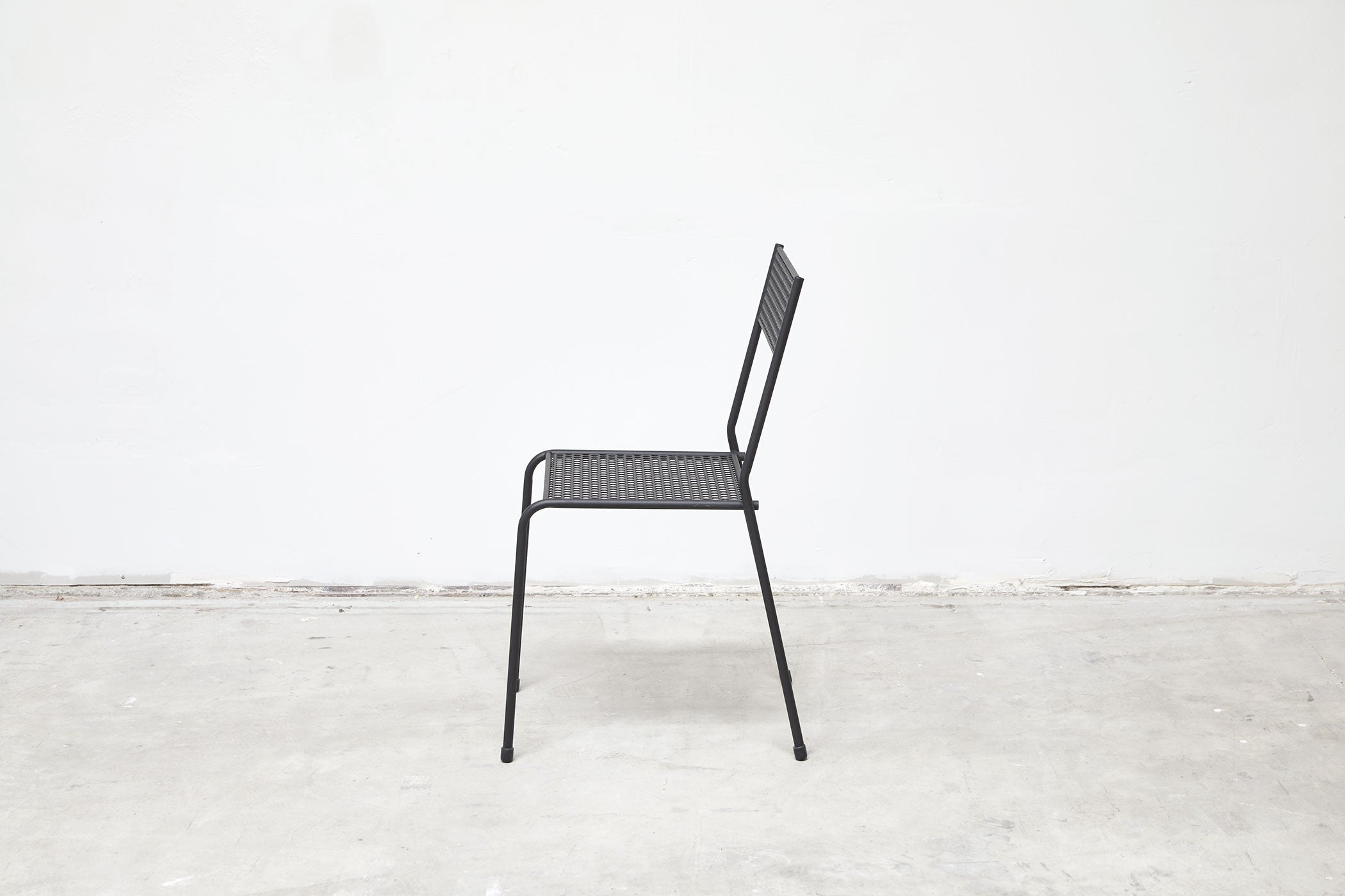 RAD Furniture's Perforated Cafe Chair - profile