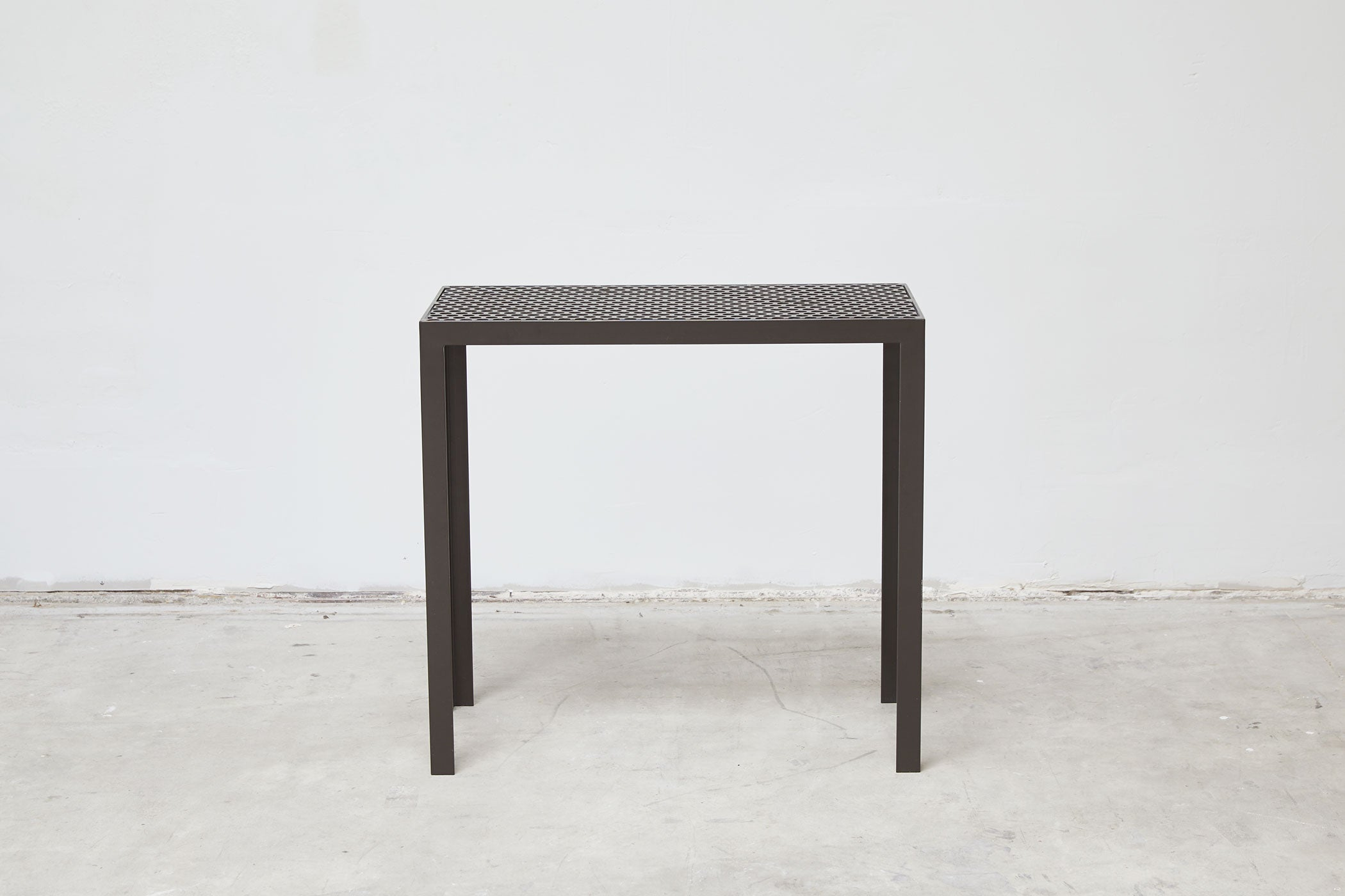 RAD Furniture's Perforated Entry Table