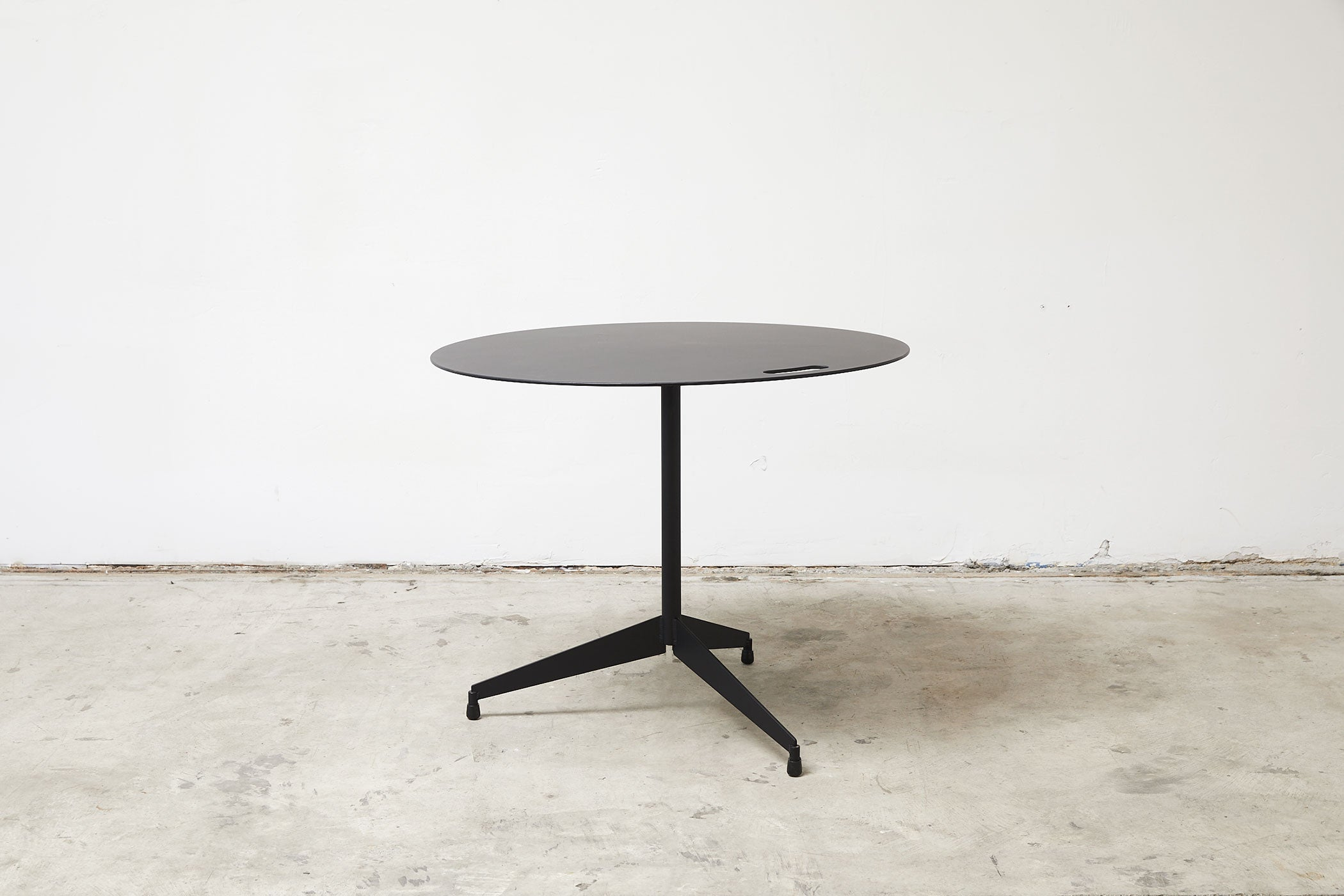 RAD Furniture's Round Aluminum-Top Cafe Table for Four