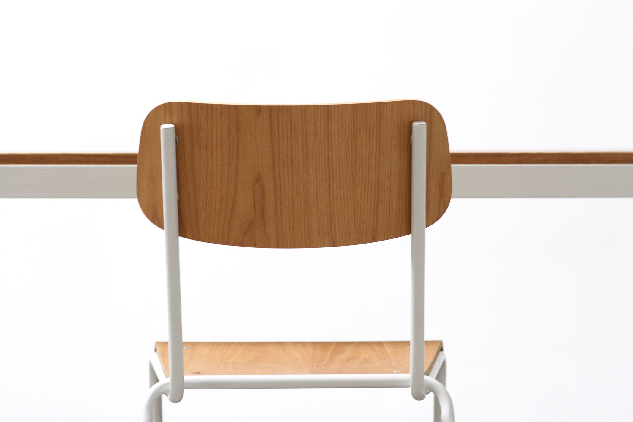 RAD Furniture's Solid Wood-top Dining Table and School Chair