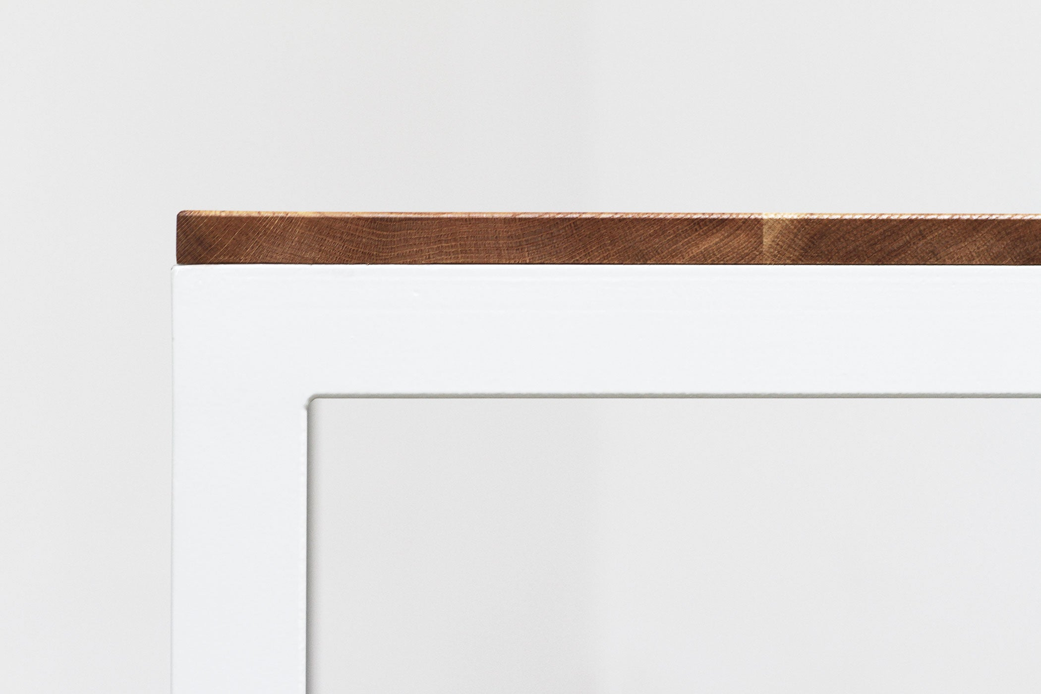 RAD Furniture's Solid Wood-top Dining Table - detail