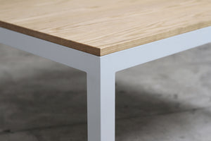 RAD Furniture's Solid Wood-top Coffee Table - detail