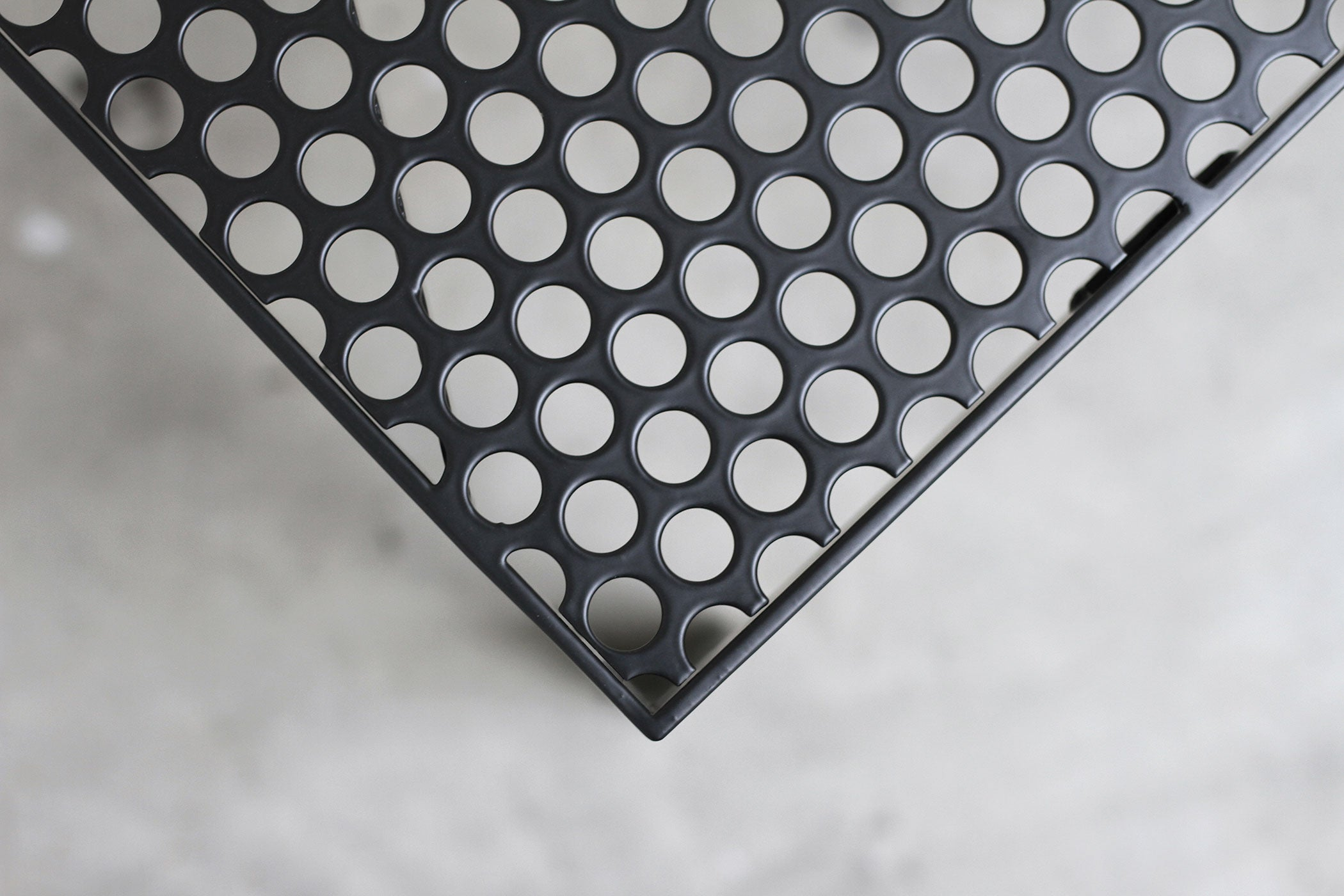 RAD Furniture's Perforated Coffee Table - detail