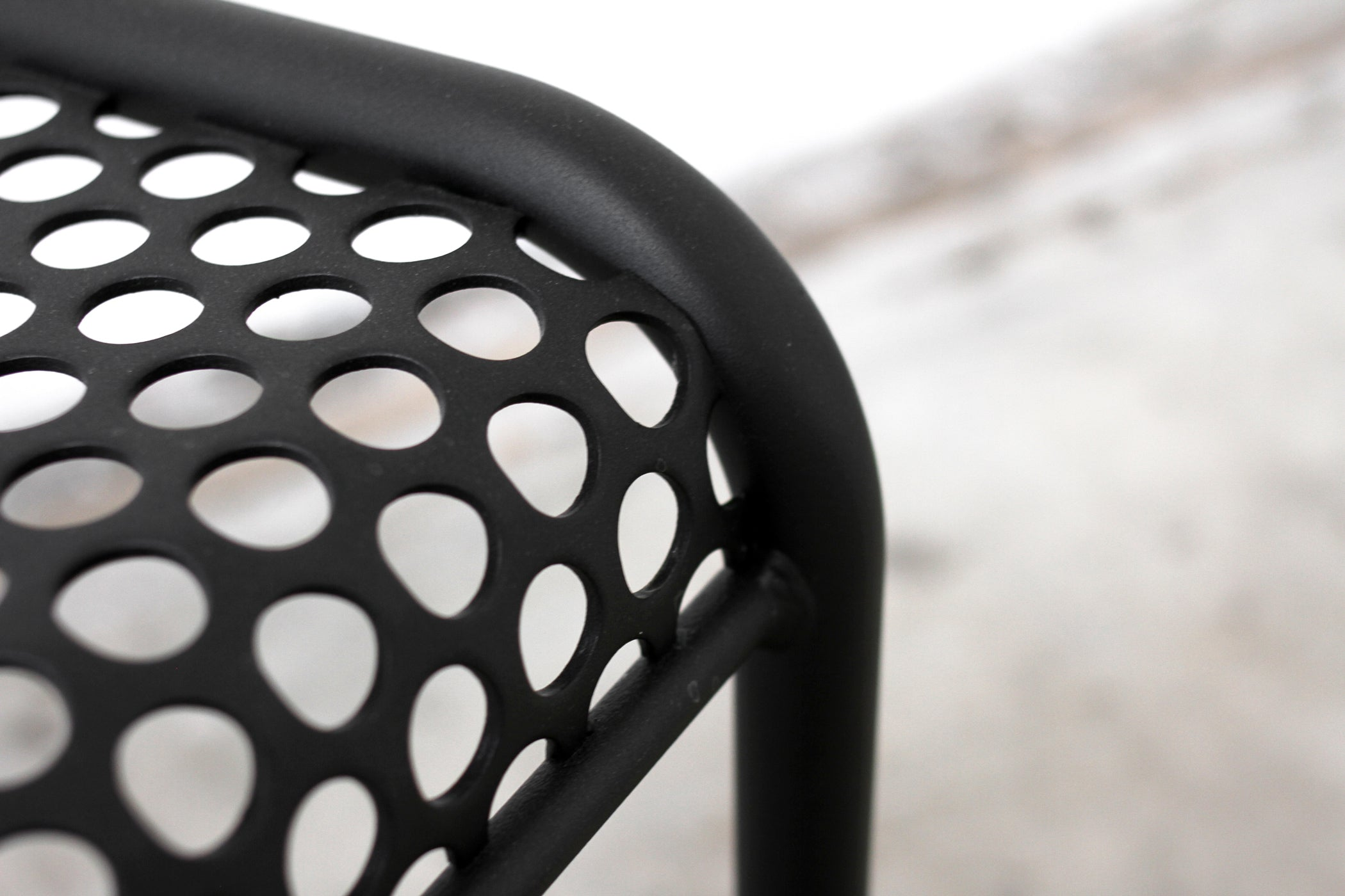 Perforated Bent-Profile Bench