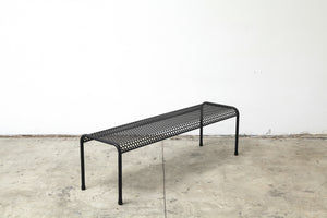 Perforated Bent Tube Bench