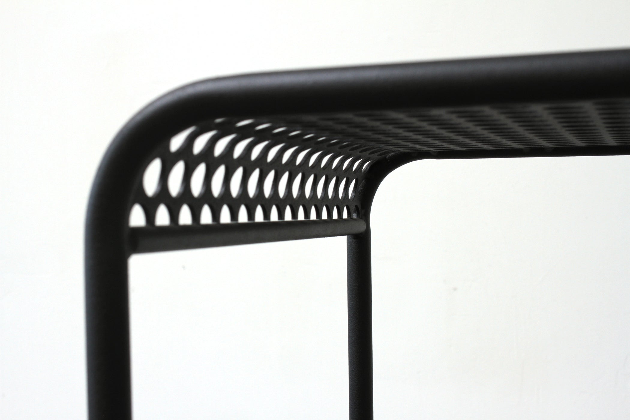 RAD Furniture's Perforated Bent-Profile Stool - detail