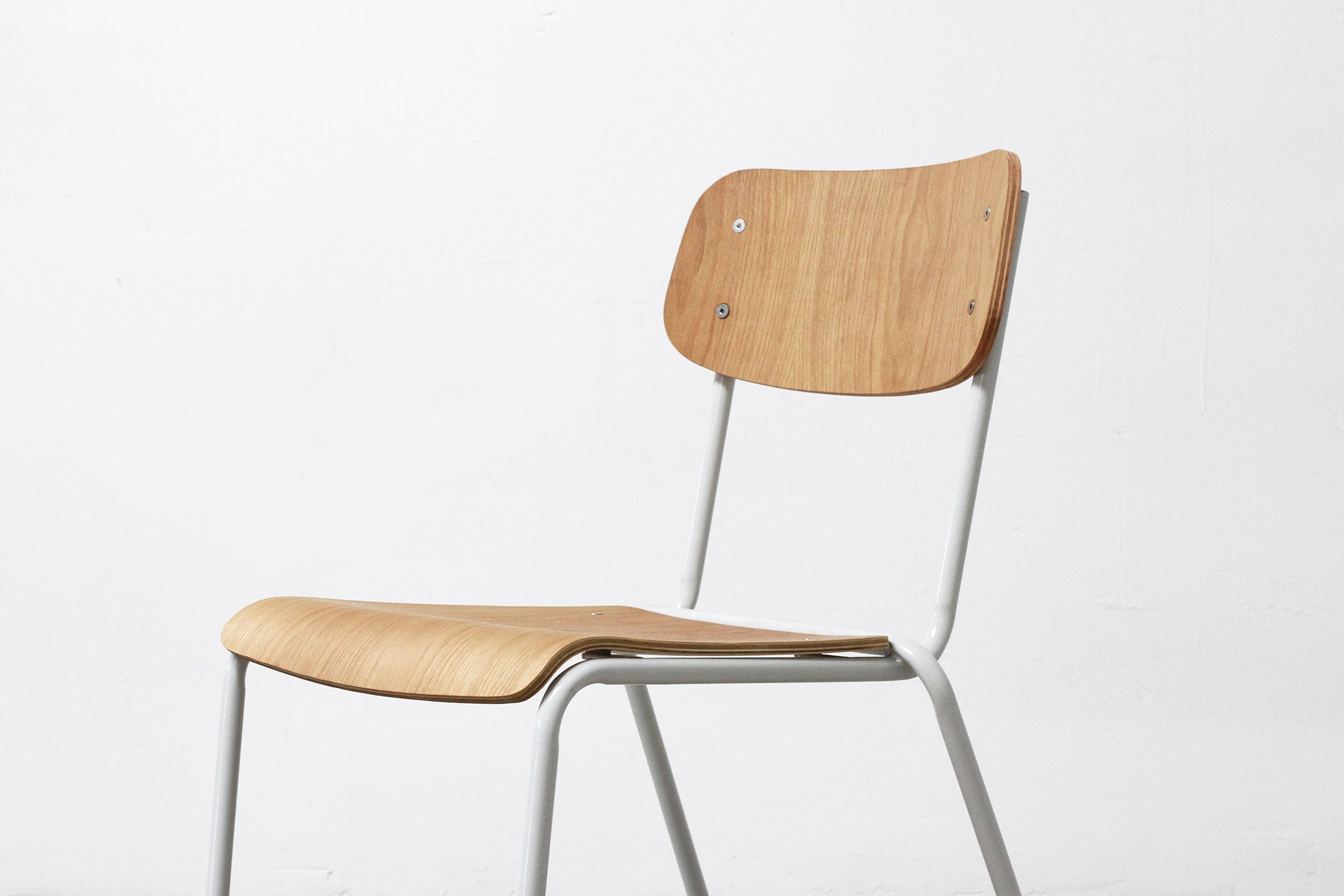 RAD Furniture's School Chair with White Oak - cropped
