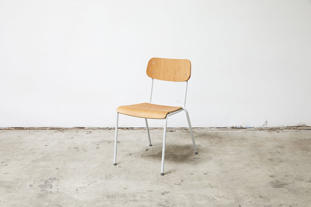 RAD Furniture's School Chair with White Oak