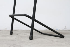 RAD Furniture's Slatted Wood Bar Stool - base detail
