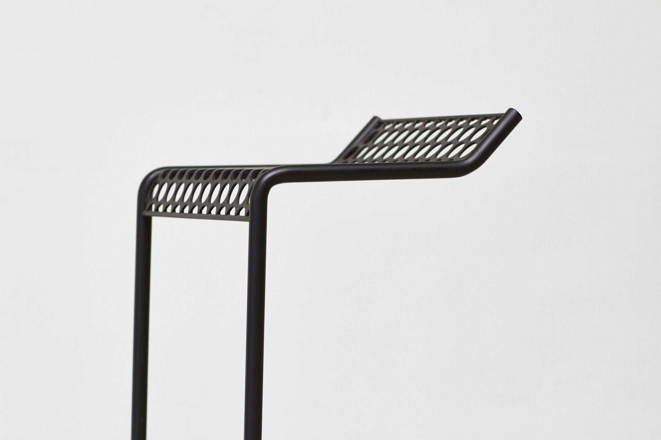 RAD Furniture's Perforated Bar Stool - seat detail