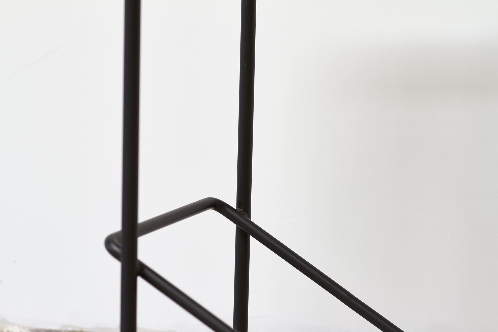 RAD Furniture's Perforated Bar Stool - base detail