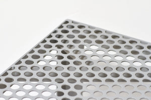 RAD Furniture's Perforated Bench - detail
