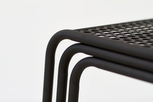 RAD Furniture's Perforated Cafe Chair - detail