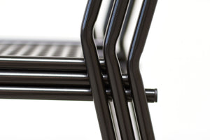 RAD Furniture's Perforated Dining Chair - stacking detail