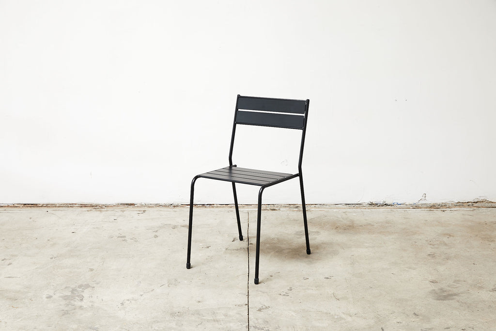 RAD Furniture's Slatted Steel Cafe Chair