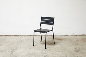 RAD Furniture's Slatted Steel Dining Chair