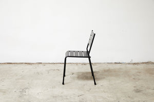 RAD Furniture's Slatted Steel Dining Chair, Profile