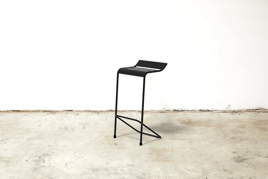 RAD Furniture's Signature Slatted Steel Bar Stool