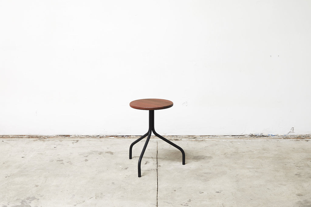 RAD Furniture's Round Wood-top Stool