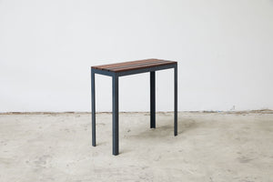 RAD Furniture's Slatted Wood-Top Entry Table