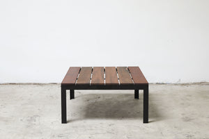 RAD Furniture's Slatted Wood-top Coffee Table