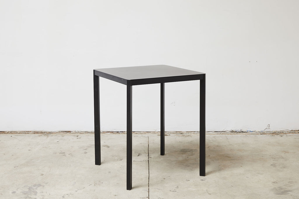 RAD Furniture's Solid Steel-Top Cafe Table