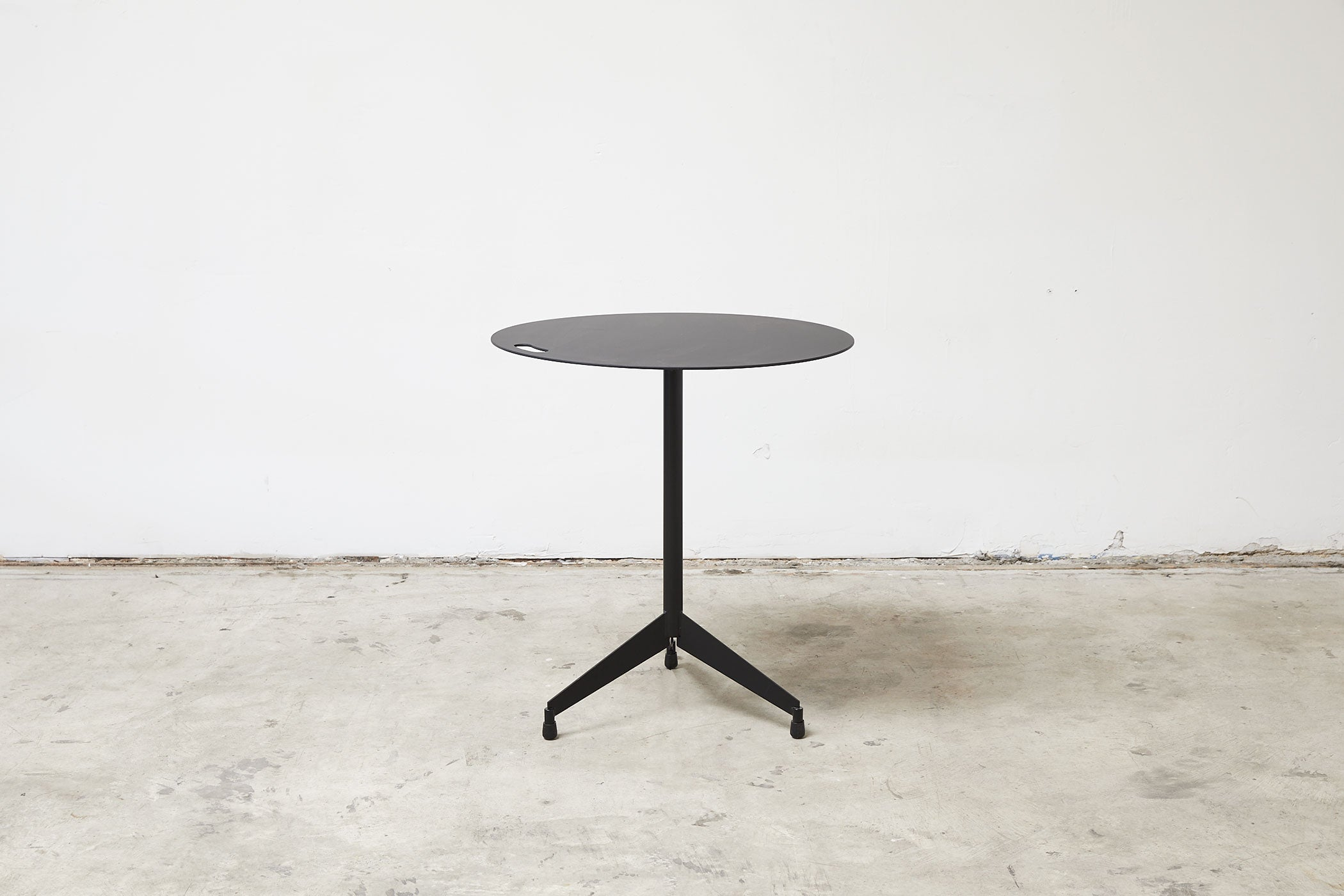 RAD Furniture's Round Aluminum-Top Cafe Table for Two