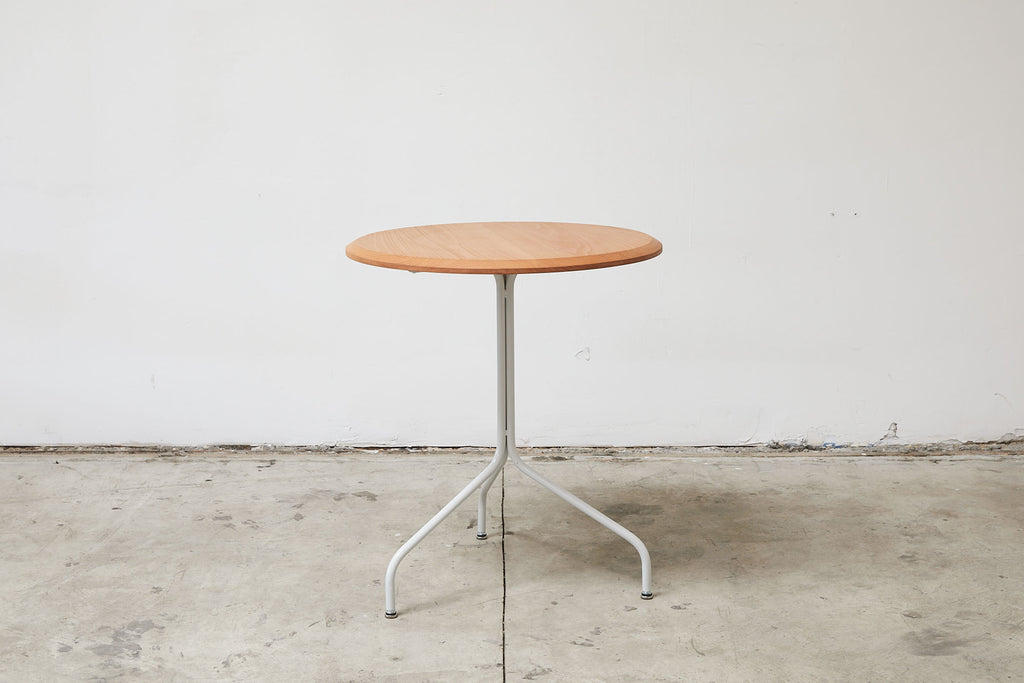 RAD Furniture's Solid Wood-top Round Cafe Table