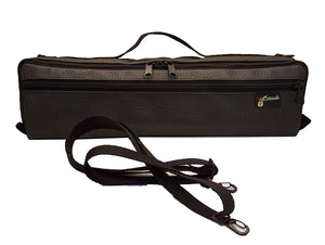 B Foot Fitted Flute Cover in vinyl with Shoulder Strap
