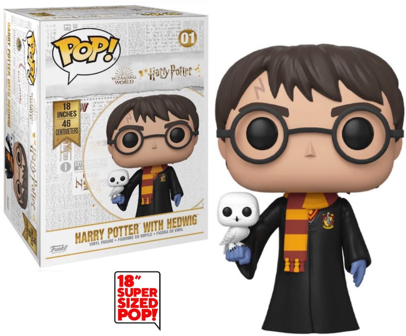 Harry Potter Pop! Vinyl - Giant 46cm (18 Inch Super Sized) with Hedwig