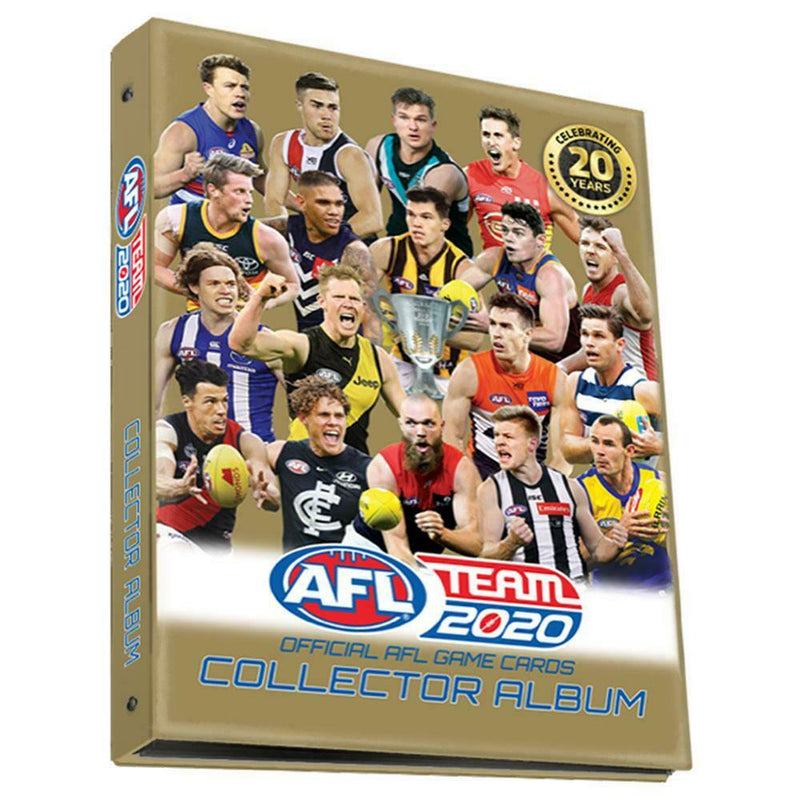 AFL Trading Cards Album Folder- Team 2020