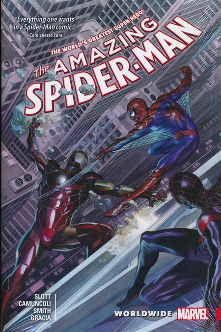 AMAZING SPIDERMAN WORLDWIDE TRADE PAPERBACK VOLUME 1 (DAN SLOTT)
