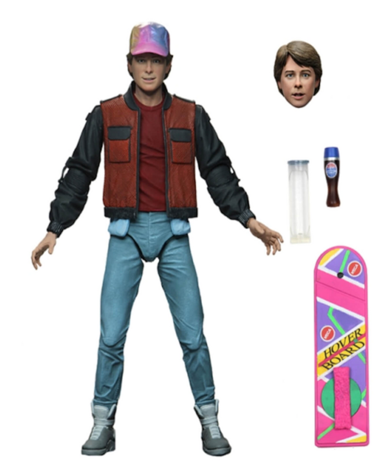 Back to the Future - Ultimate Part 2 Marty 7 Inch Scale Action Figure by NECA