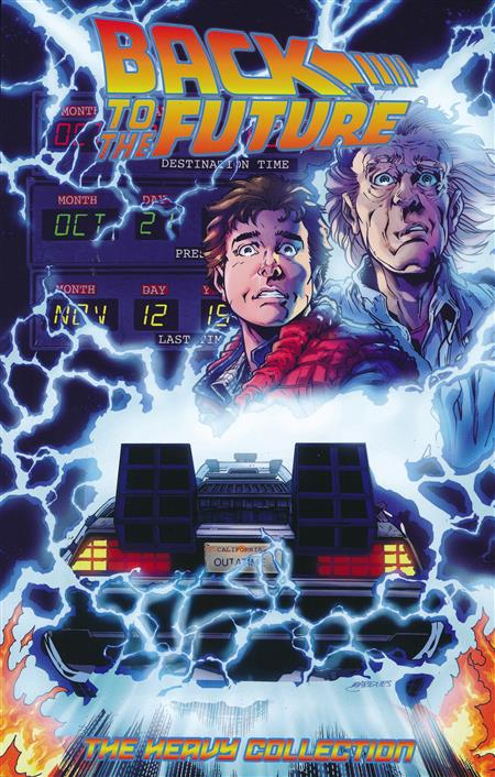 BACK TO THE FUTURE - THE HEAVY COLLECTION (ISSUES 1 - 12)