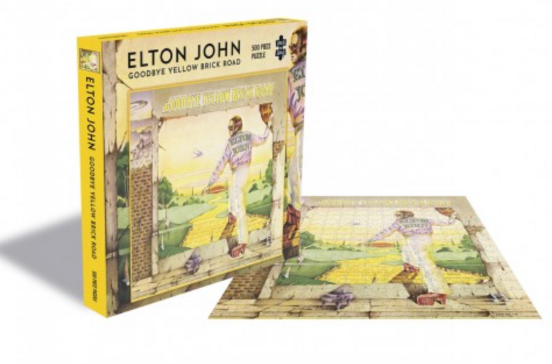 Rocksaw Band Puzzle - Elton John 'Goodbye Yellow Brick Road' Album Cover (500 Pieces)