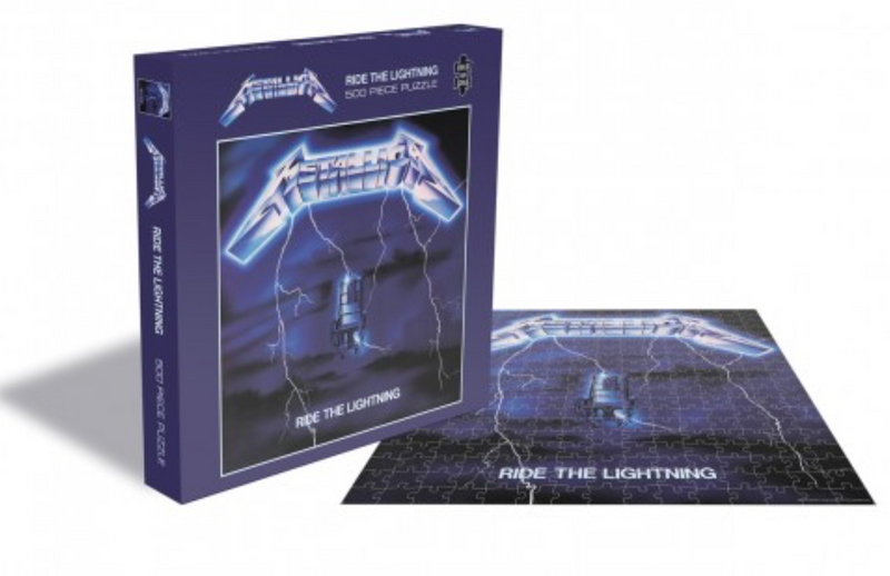 Rocksaw Band Puzzle - Metallica 'Kill Em All' Album Cover (500 Pieces)