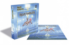 Rocksaw Band Puzzle - Iron Maiden 'The Number of the Beast' Album Cover (500 Pieces)