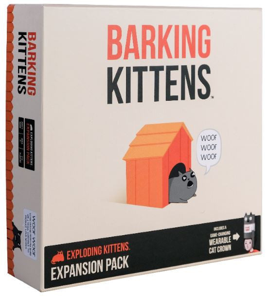 Barking Kittens (2020 Exploding Kittens Expansion)