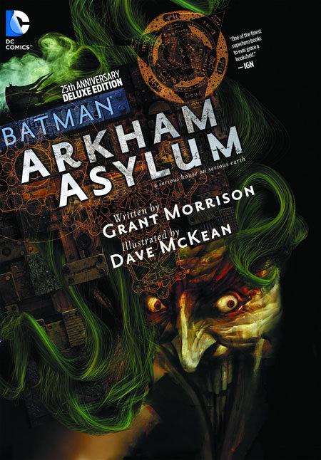 BATMAN ARKHAM ASYLUM 25TH ANNIVERSARY DELUXE EDITION TRADE PAPERBACK