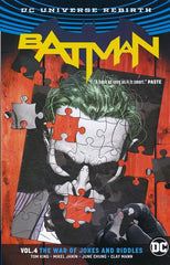 BATMAN TRADE PAPERBACK (REBIRTH) VOLUME 4 - THE WAR OF JOKES AND RIDDLES