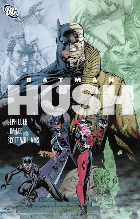BATMAN HUSH - COMPLETE COLLECTION TRADE PAPERBACK (LOEB, LEE)
