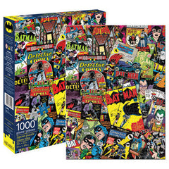DC Batman Puzzle Retro Comic Covers 1000 pieces