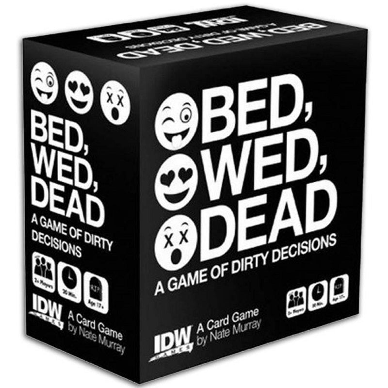 Bed, Wed, Dead: A Card Game of Dirty Decisions