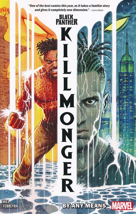BLACK PANTHER: KILLMONGER COMIC COLLECTION 1 BY ANY MEANS