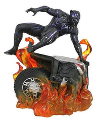 Black Panther Statue - 22cm PVC Marvel Gallery (Version 2)