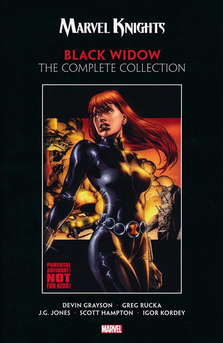 MARVEL KNIGHTS BLACK WIDOW COMPLETE COLLECTiON (1999 - 2001, GRAYSON AND RUCKA)