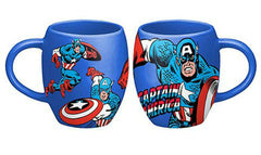 Marvel Captain America Coffee Mug Bubble