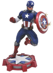 Captain America Statue - 23cm PVC Marvel Now Gallery (Traditional Costume)