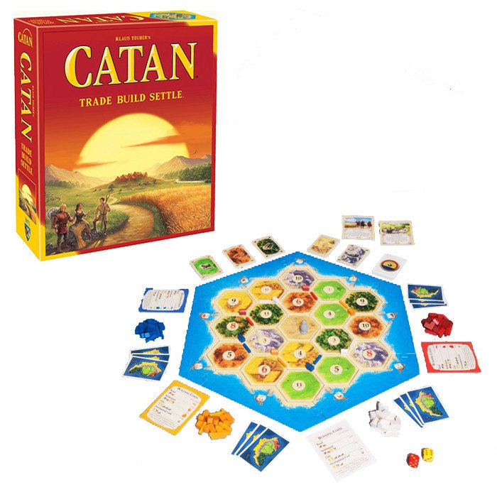 Catan Trade Build Settle Board Game